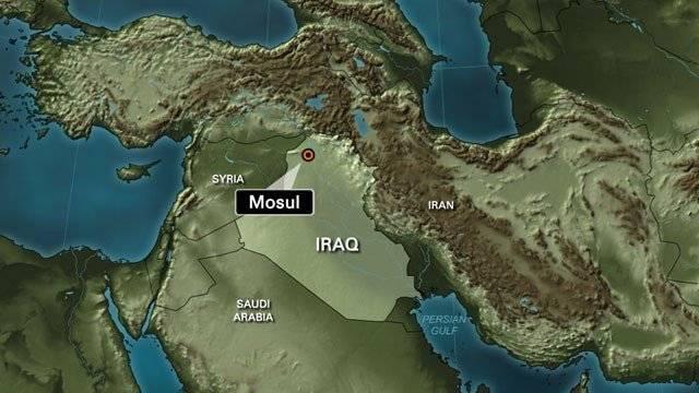 Ciudad de Mosul, Irak. Redes
