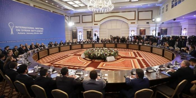 Negociaciones sirias en Astaná, Kazajistán. Redes