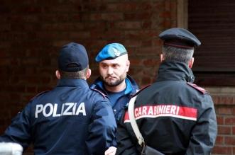 Policía italiana. Archivo