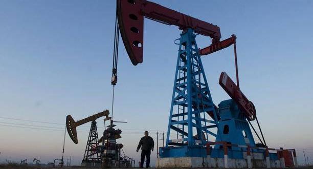 Producción de petróleo. Archivo