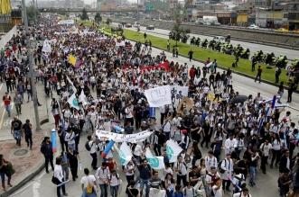 Protestas en Colombia. Archivo