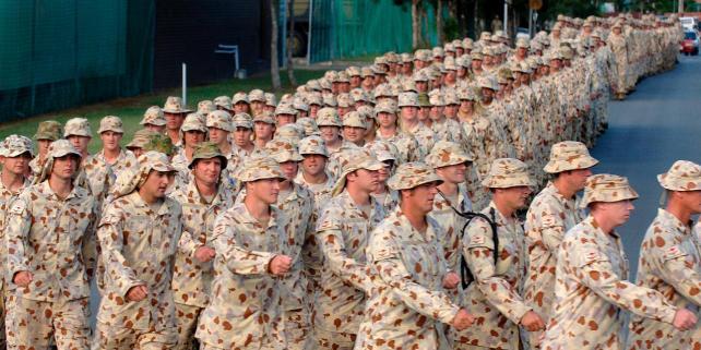 Retirada de tropas australianas de Afganistán. Archivo