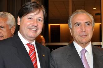 Rodrigo Rocha Loures y Michle Temer. Redes