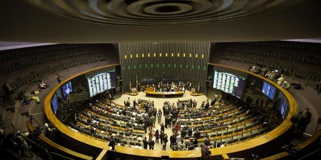 Plenario de la Cámara de Diputados de Brasil. EFE elpais.cr
