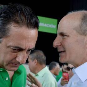 Antonio Álvarez y José María Figueres