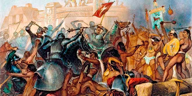 Conquista de América. Archivo