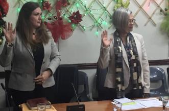 Ex jerarca de Supen, Edgar Robles (Izq) y el actual Superintendente de pensiones, Álvaro Ramos (der).