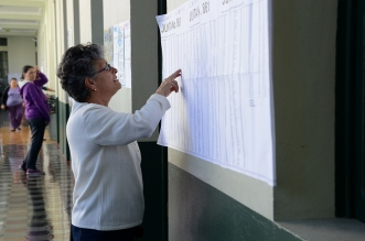 Votaciones municipales 2016 Foto por: UCR