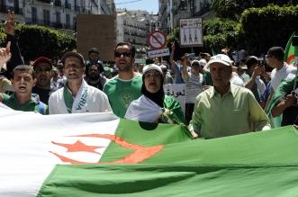 Protestas en Argelia. DPA