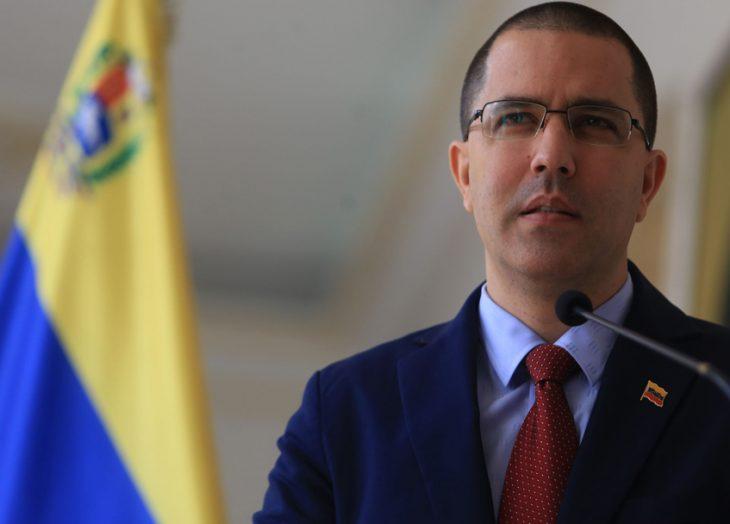 Jorge Arreaza rechazó declaraciones de Iván Duque sobre Venezuela