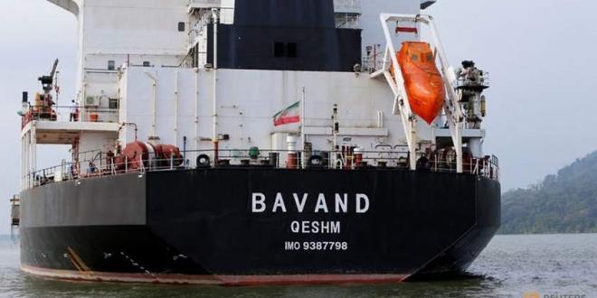 El buque Bavand está varado en el puerto de Paranagua. Redes