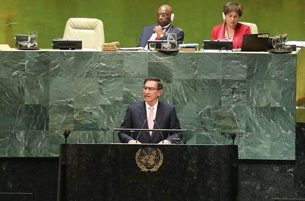 Martín Vizcarra se reunió con secretario de la ONU en Estados Unidos