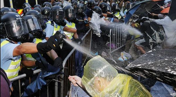 Policía de Hong Kong.