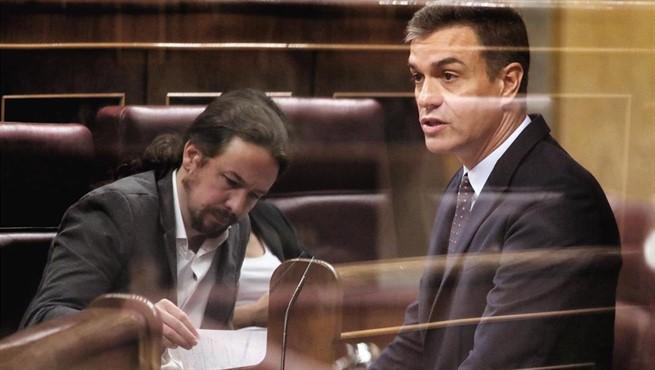 Resultado de imagen de sánchez pide el desbloqueo a la oposición