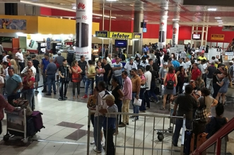 Aeropuerto Internacional Jose Marti en La Habana, Cuba. Archivo