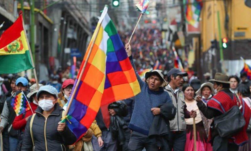 Bolivia: Las marchas para exigir la dimisión del Gobierno de Áñez avanzan hacia La Paz – Diario Digital Nuestro País