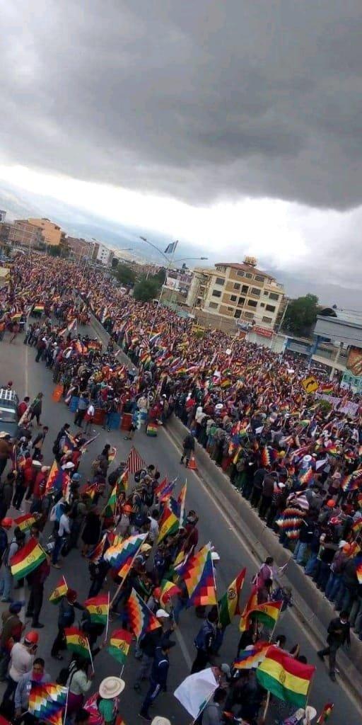 Indígenas toman el centro de La Paz en protesta contra Gobierno interino boliviano - Diario Digital Nuestro País