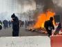 Los 'chalecos amarillos' se manifiestan contra las reformas de pensiones en París (vídeos)