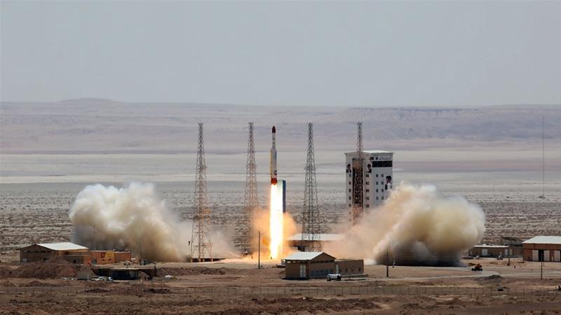 Irán no tiene éxito en satélite orbitando la tierra