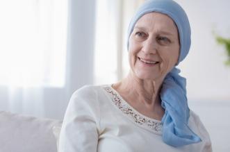 Paciente sometida a quimoterapia para combatir el cáncer. CP