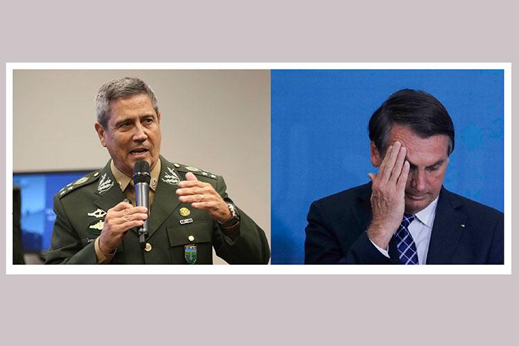Bolsonaro echó al ministro de Salud — Brasil