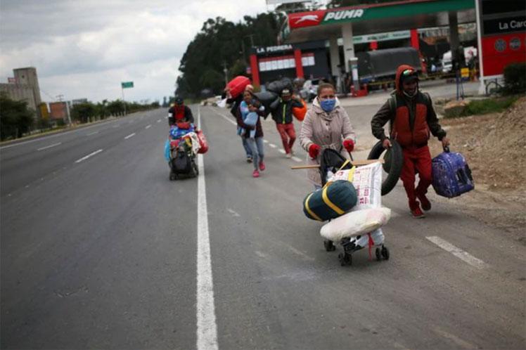 Unos 600 venezolanos regresaron al país provenientes de Colombia