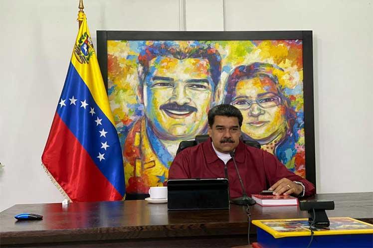 Maduro habla de