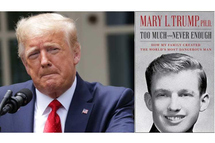 Donald Trump, descrito por su sobrina como un