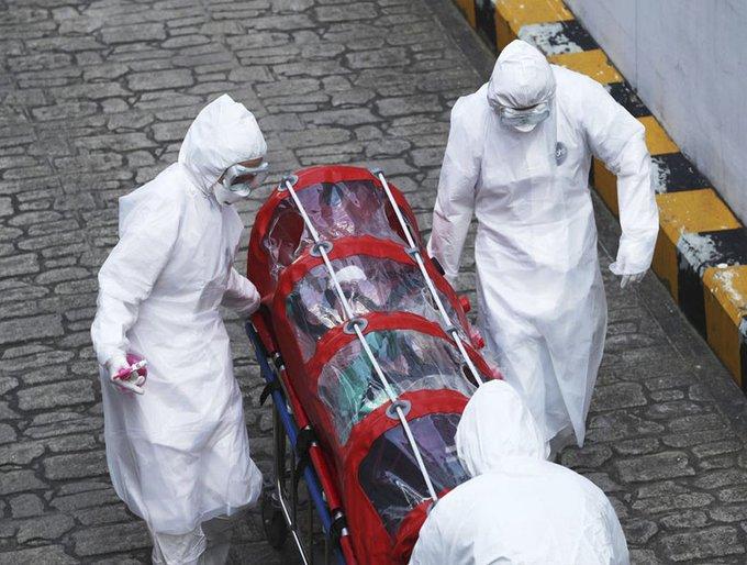Traslado de paciente Covid-19 en Bolivia. Boliviatv