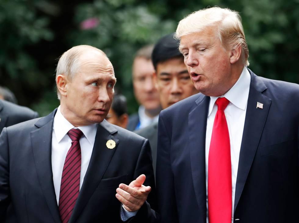 Trump autoriza desclasificar documentos sobre trama rusa y correos de Hillary Clinton