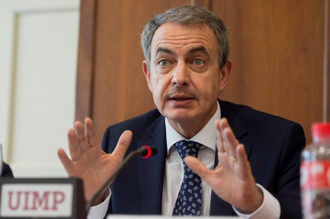 Zapatero pide a la oposición venezolana que