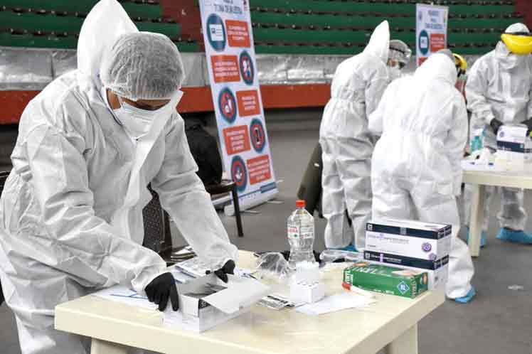 Bolivia realiza pruebas gratis para detectar Covid-19