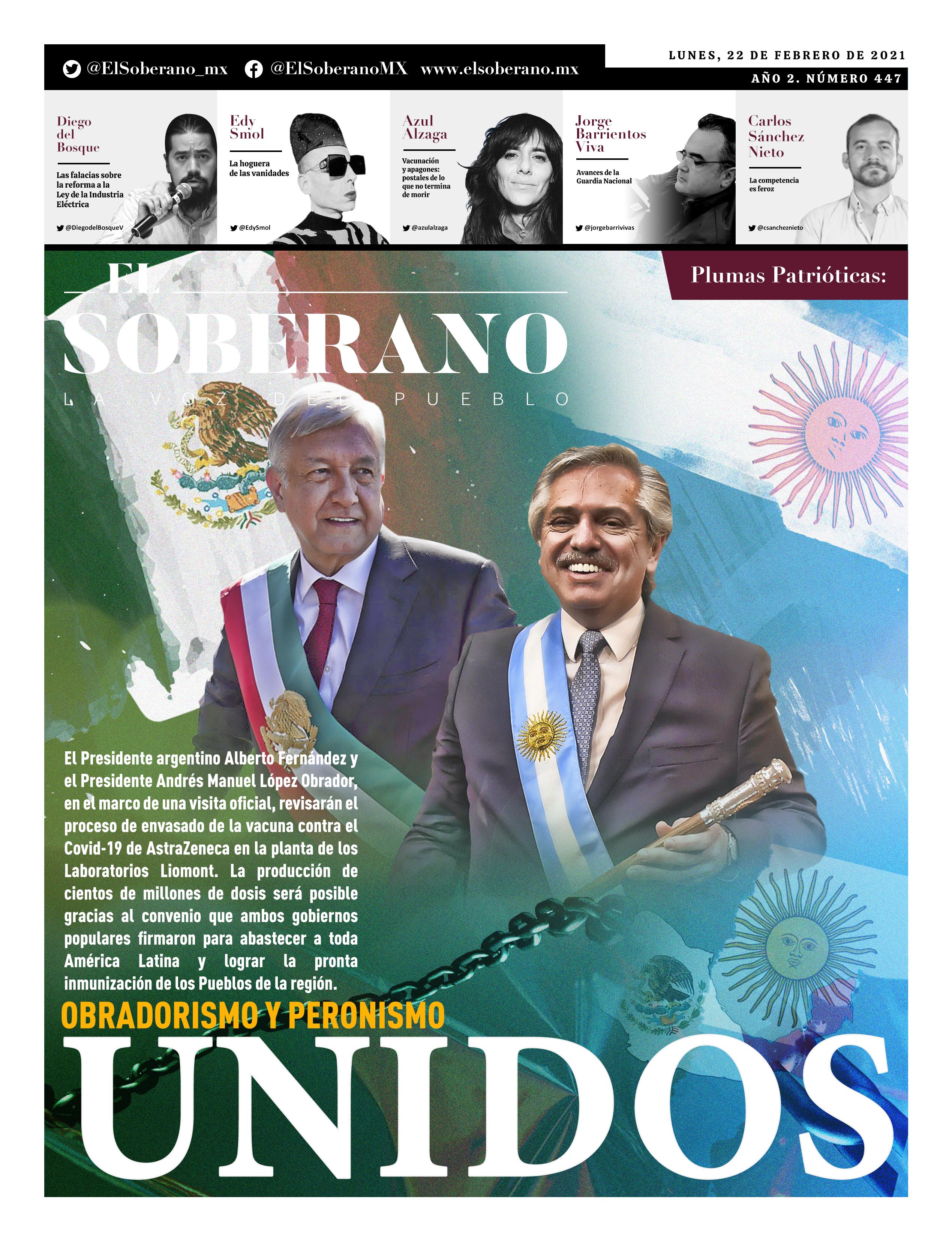 Obradorismo y Peronismo UNIDOS