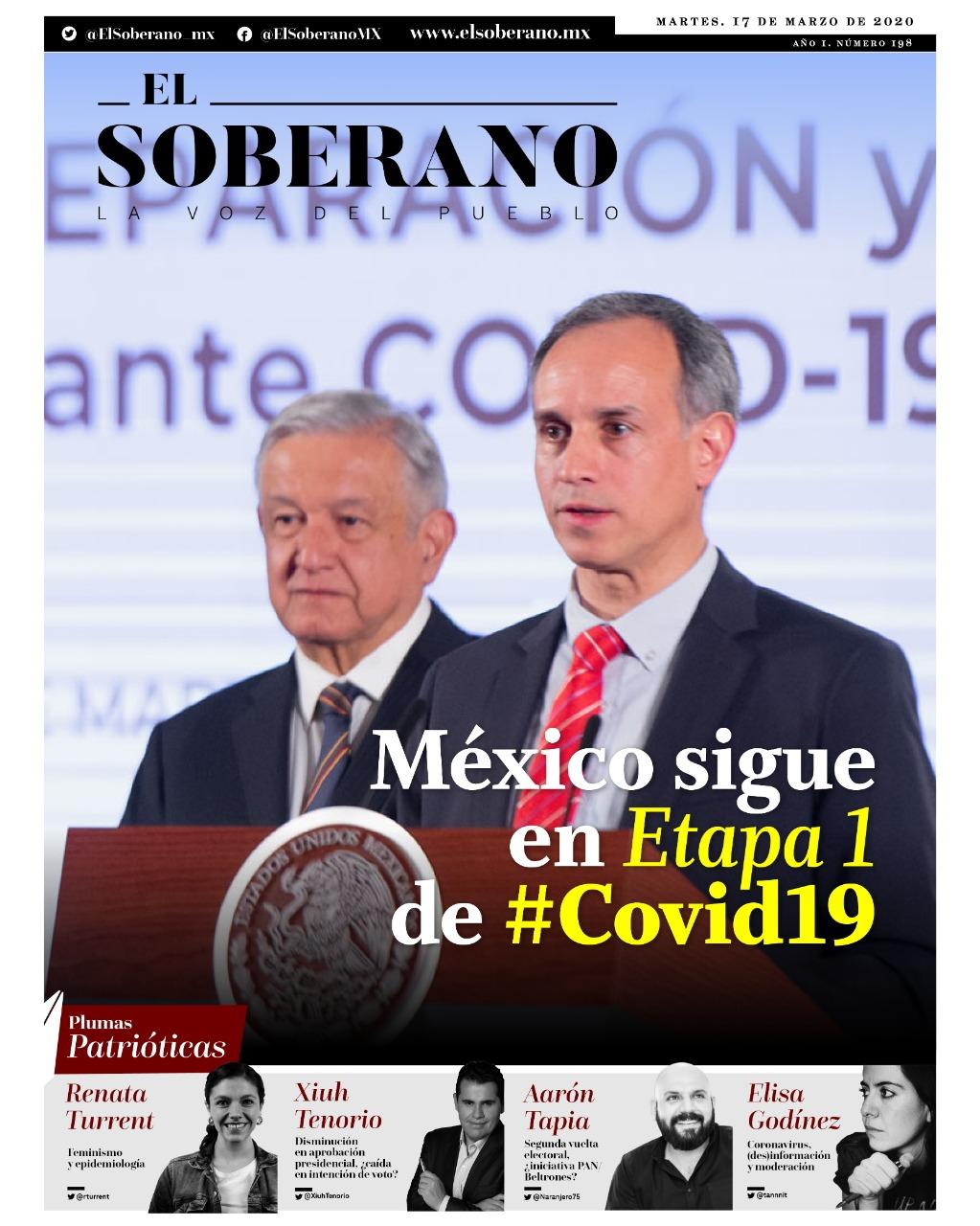 México sigue en Etapa 1 de #Covid_19