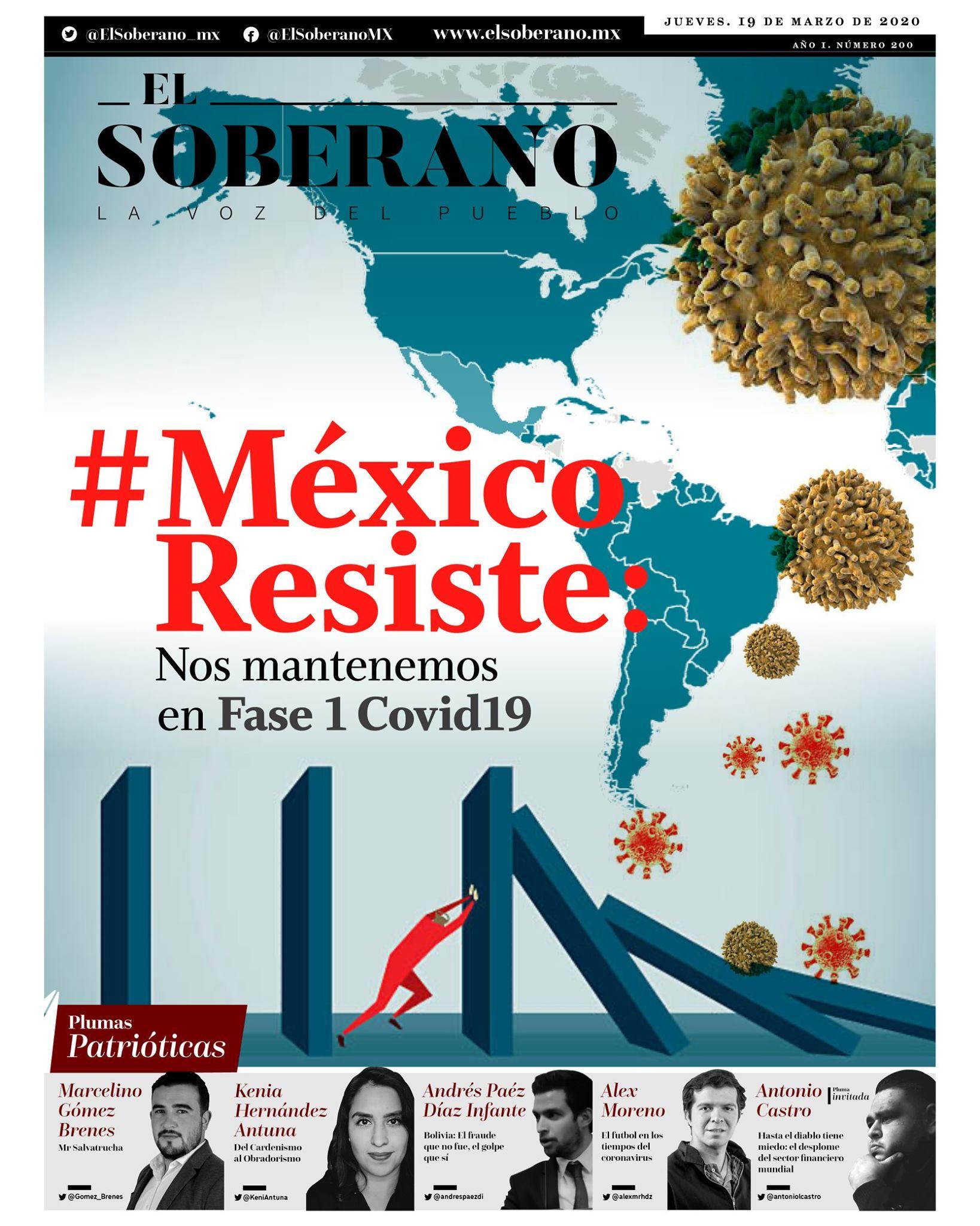 #MéxicoResiste