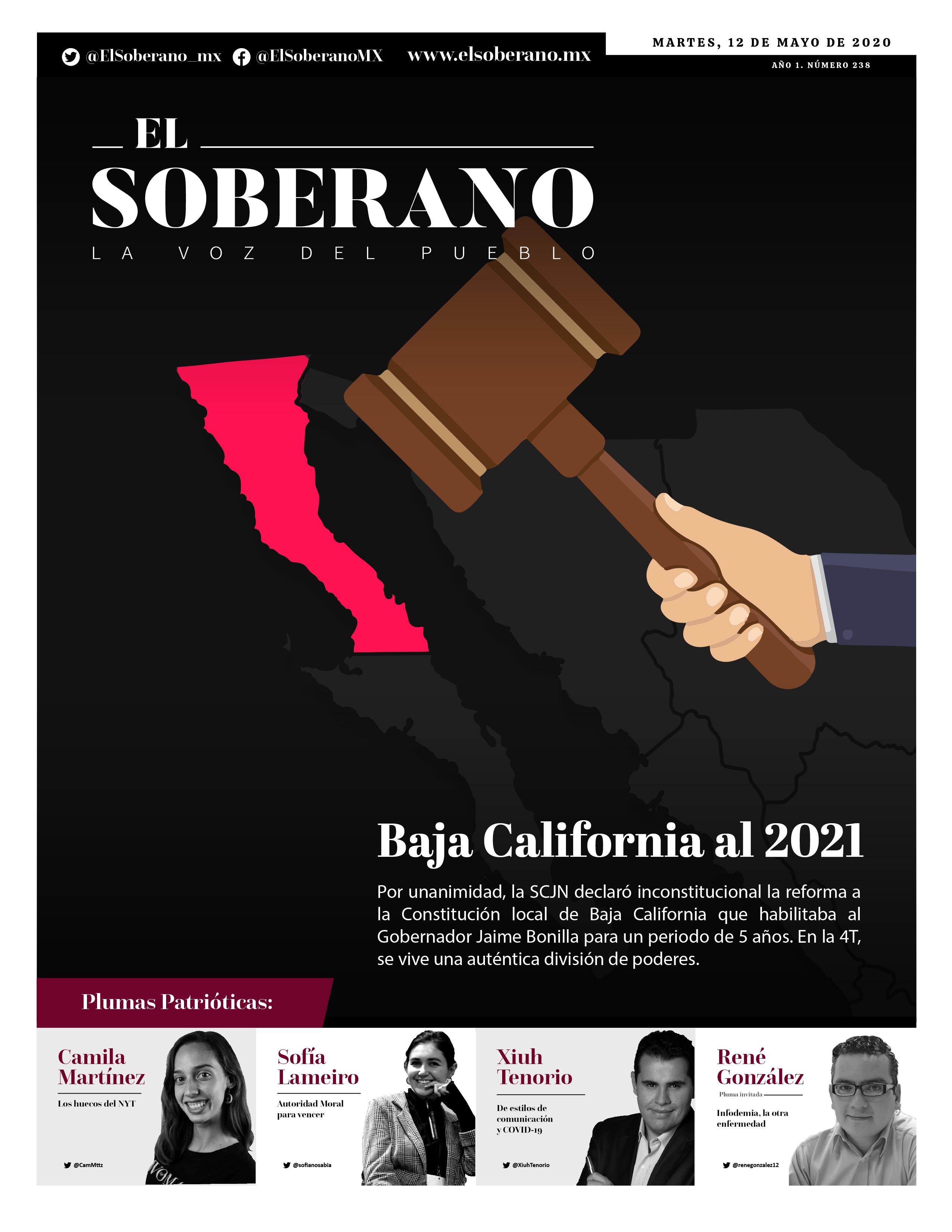 Baja California al 2021