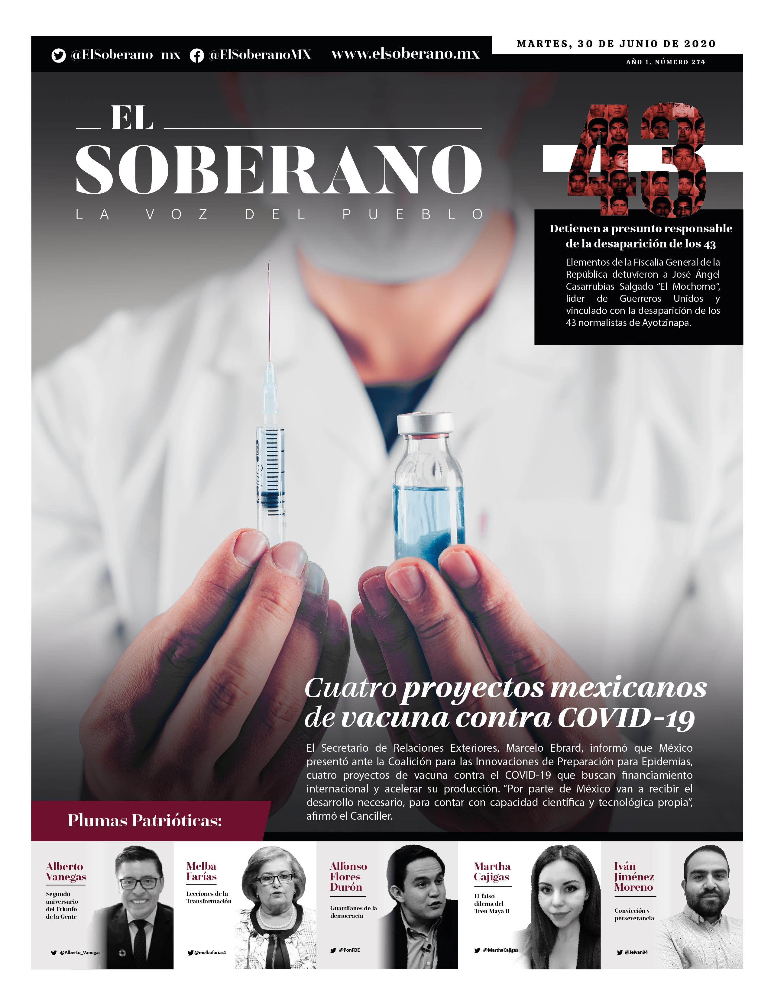 Cuatro proyectos mexicanos de vacuna contra COVID-19