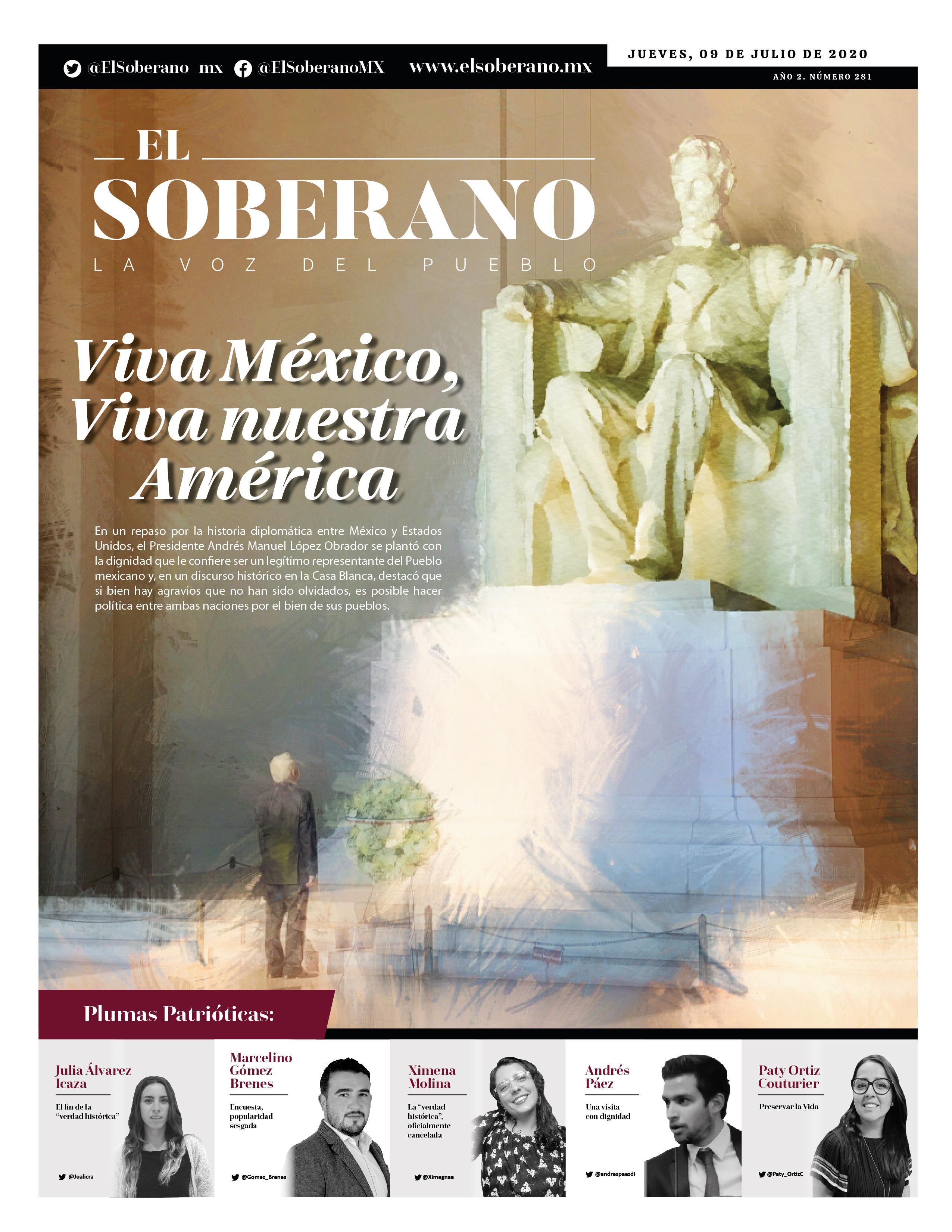 Viva México, Viva nuestra América