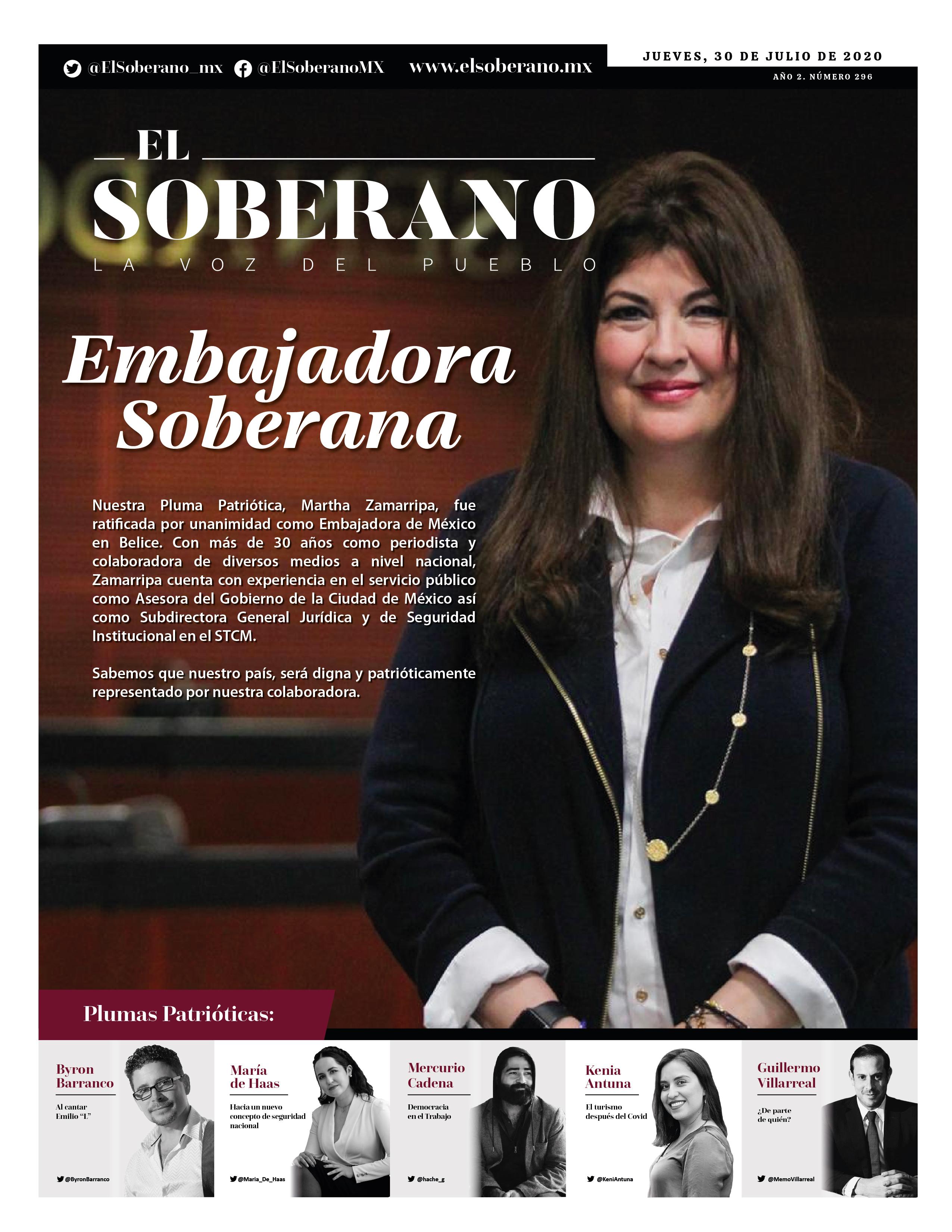 Embajadora Soberana
