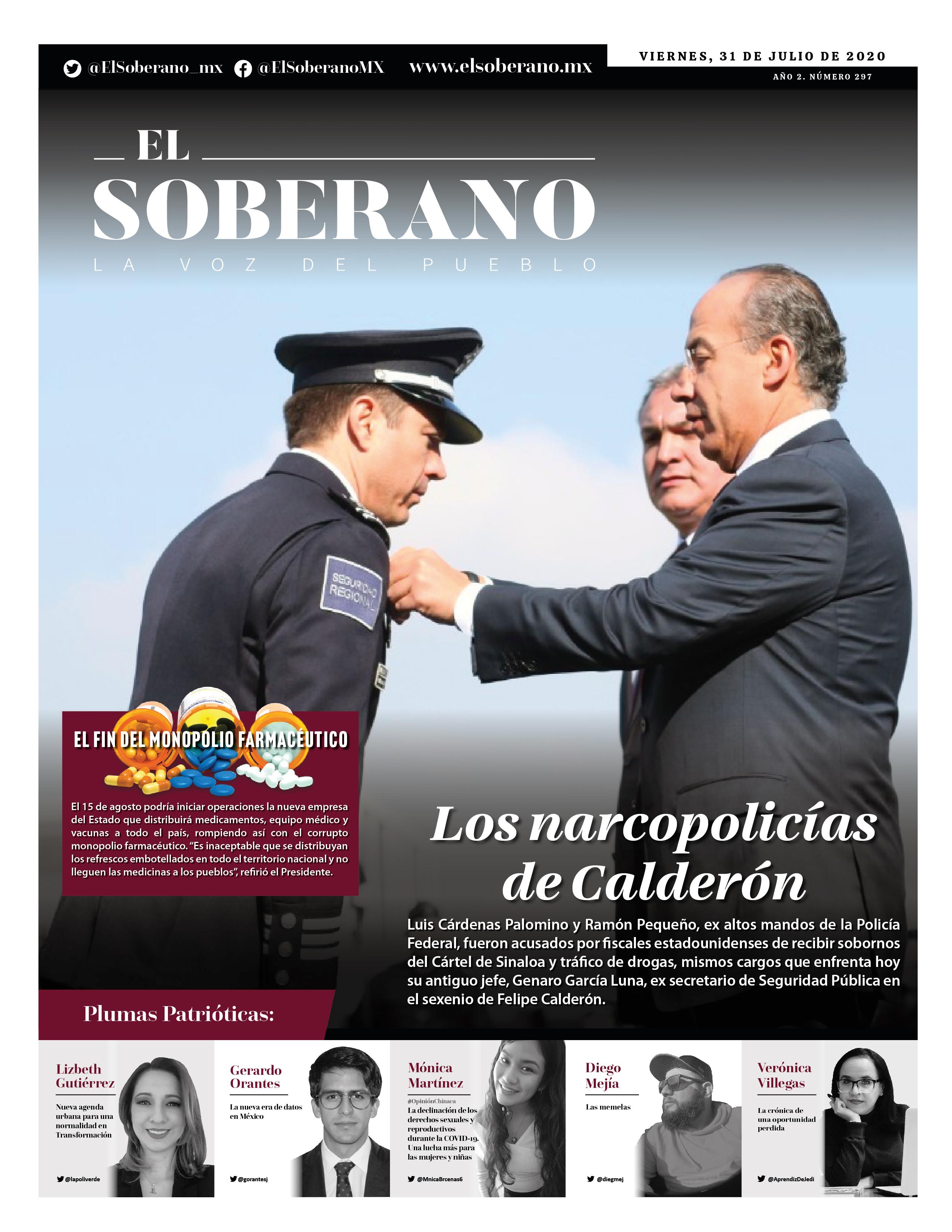 Los narcopolicías de Calderón