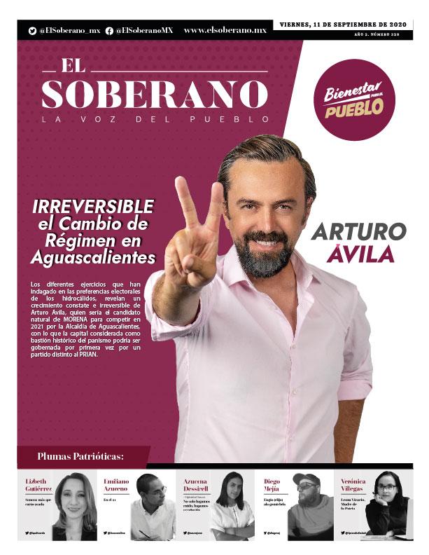 IRREVERSIBLE el Cambio de Régimen en Aguascalientes