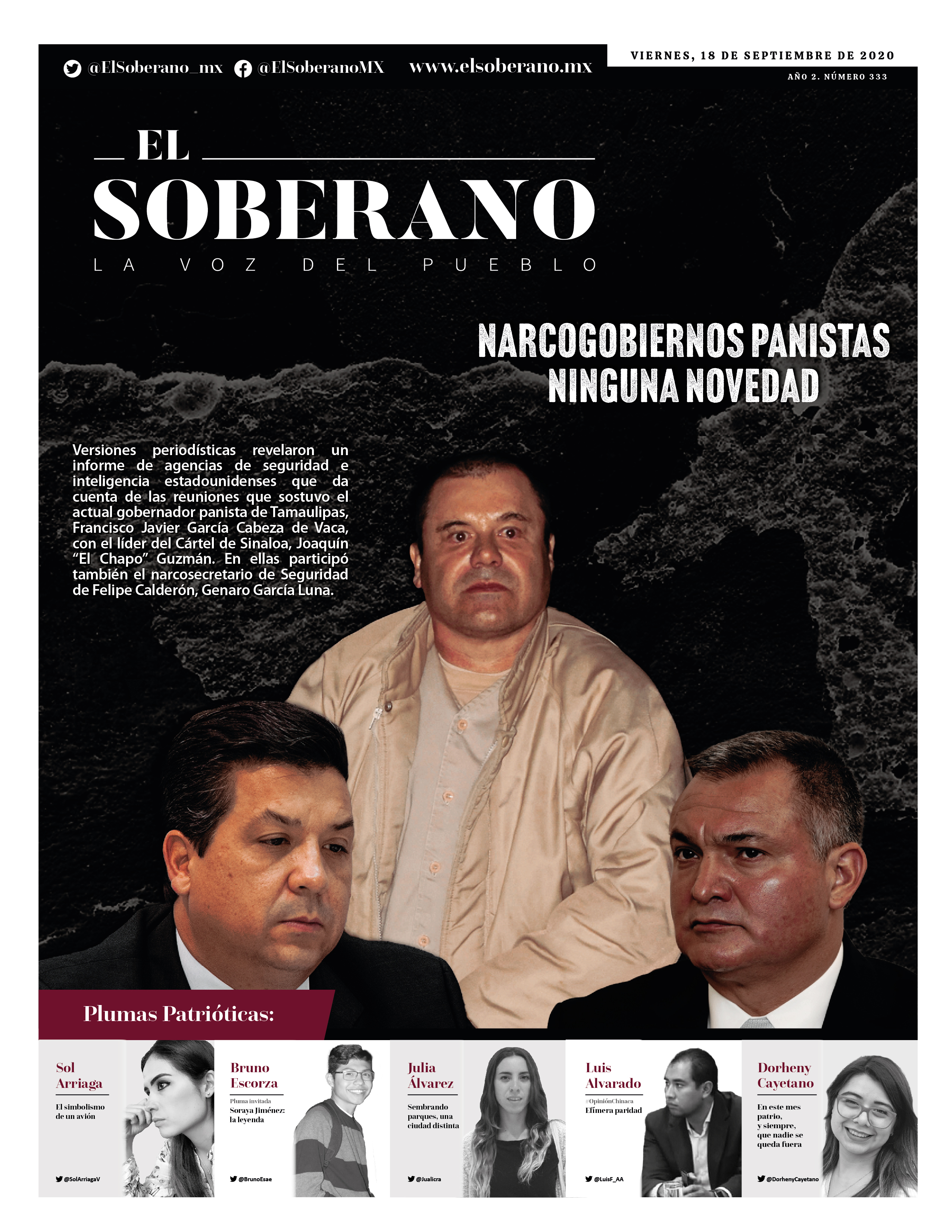 Narcogobiernos panistas: Ninguna novedad