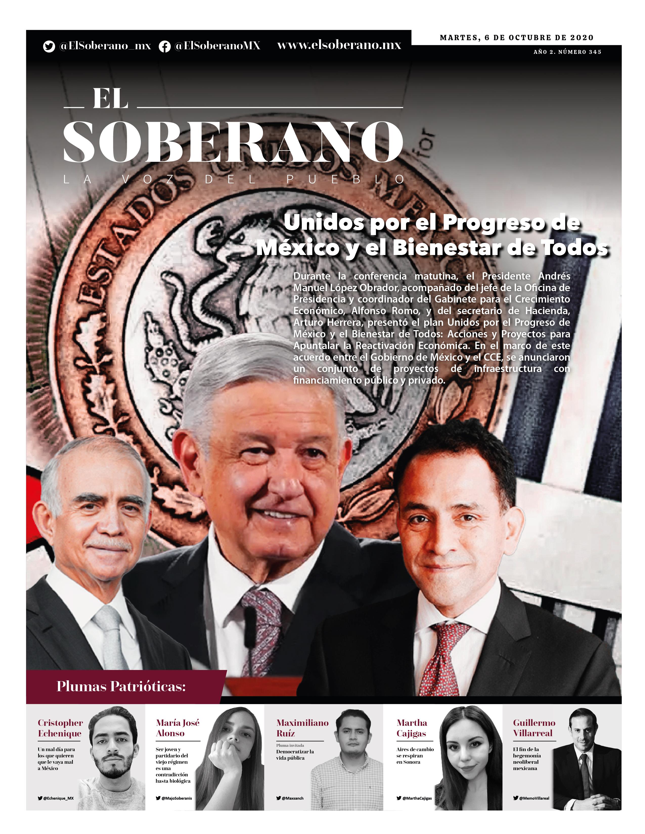 Unidos por el Progreso de México y el Bienestar de Todos