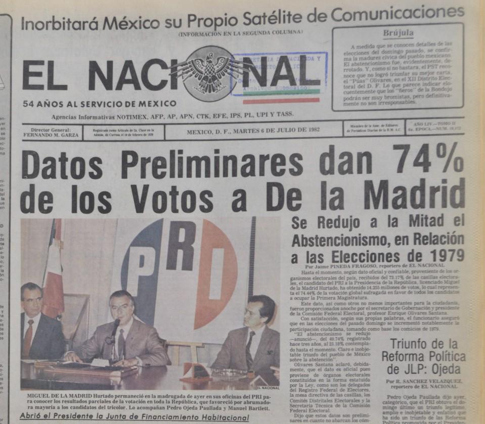 El Soberano Los Triunfos Presidenciales En Sus Portadas 1964 2018