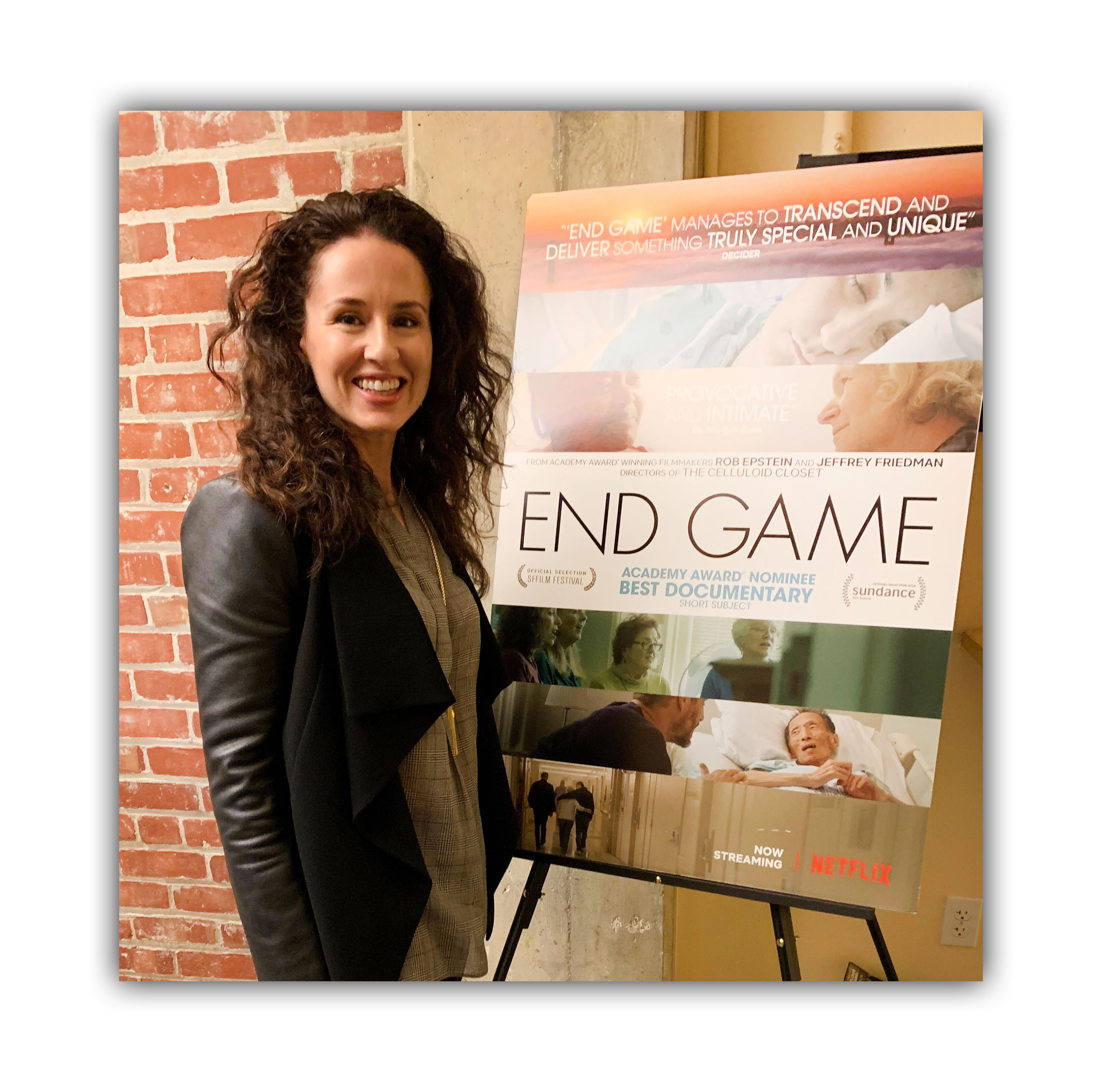 End Well Founder Produces End Game Documentary Shoshana Ungerleider