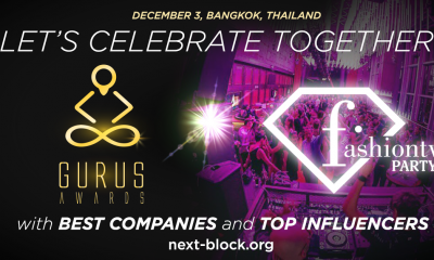 NEXT BLOCK ASIA 2.0 introduces GURUS AWARSource: GURUS Awards 2019