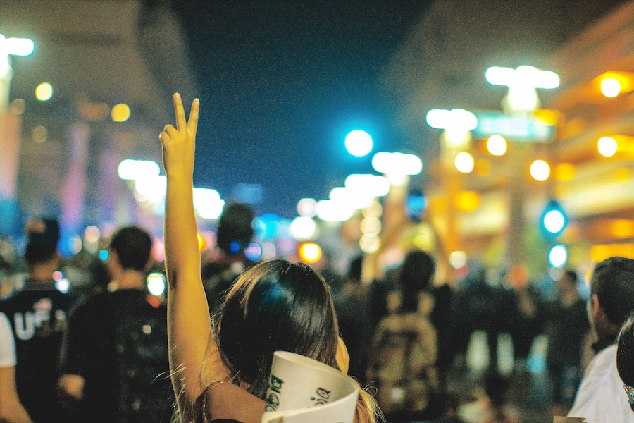 HKmap.live accepts Bitcoin as government has forced people to go anonymous