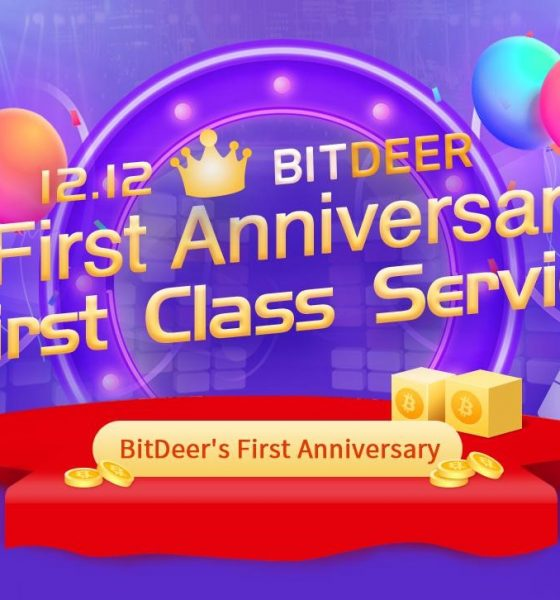 BitDeer celebrates 1 year anniversary with big giveaway