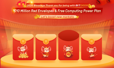BitDeer announces new mining plans and 2020 Lunar New Year event