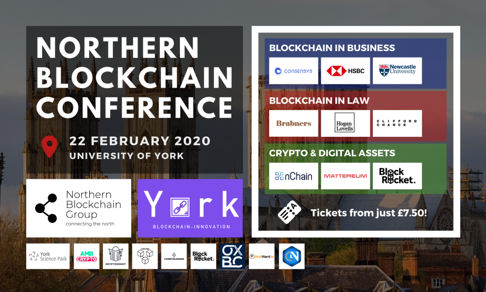 Northern Blockchain Conference comes to University of York on Feb. 22